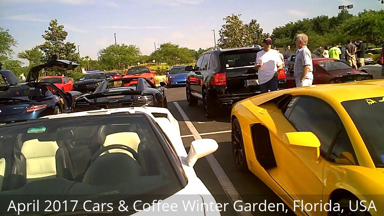 127 april 2017 cars and coffee winter garden florida usa