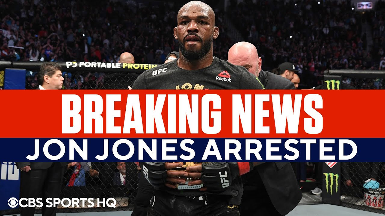 Jon Jones reportedly arrested on domestic violence charge