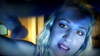 ALIEN ABDUCTION for women: HAIR, SKIN samples & FACE paint  *Binaural ASMR doctor roleplay *