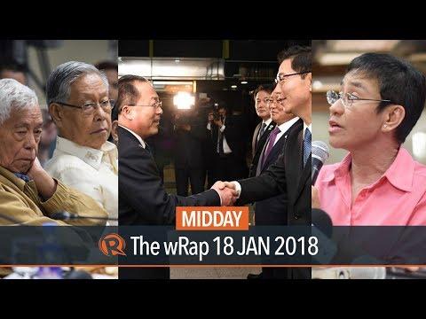 Rappler on NBI probe, Nene Pimentel, North and South Koreas | Midday wRap