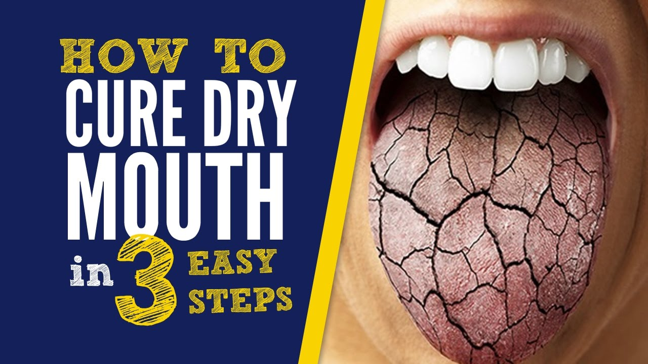How To Get Rid Of Dry Mouth - Xerostomia - 3 Natural Home Remedies To Cure Dry Mouth