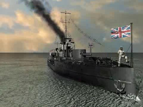 HMS Monitor M33 1915