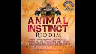 Animal Instinct Riddim Mix (Dr. Bean Soundz)[2013 Techniques Records]