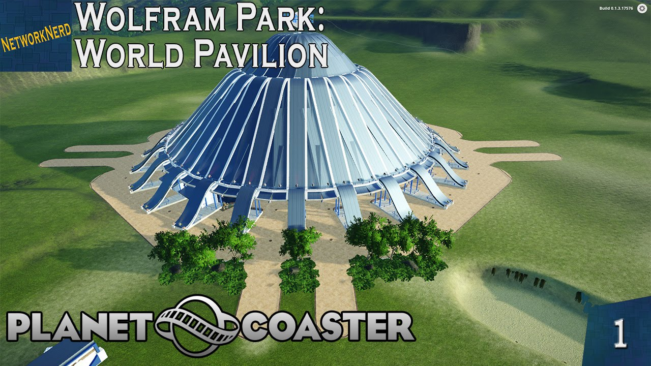 how to build a round building in planet coaster