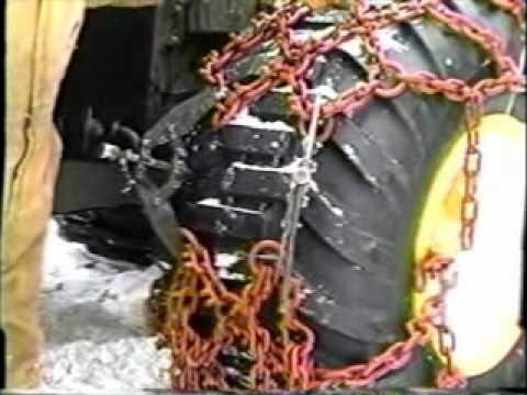 Skidder Chain Installation