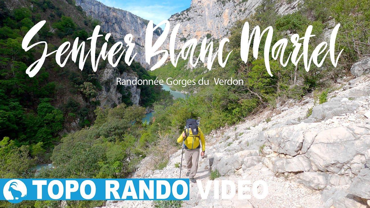 SENTIER BLANC MARTEL - Randonnée - Gorges du Verdon -Alpes de Haute Provence - France