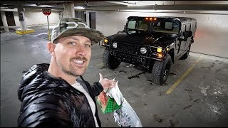 I Went Christmas Shopping Early!  *MURDERED OUT HUMMER H1*