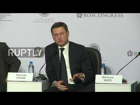 Iran: Russia and Iran sign deal to study two oil fields in west Iran - Novak