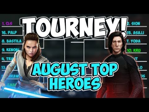 Top Heroes Tournament August! Will CLS Defend His Title? | Star Wars: Galaxy of Heroes