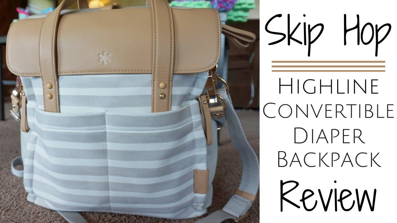 Skip Hop Highline Convertible Diaper Backpack Review Momma Alia You