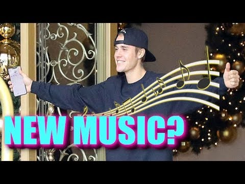 Justin Bieber Confirms New Music Is Coming SOON!