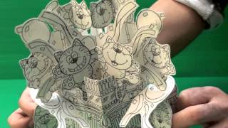 Amazing 3D Pop Up Cards - Kitty Cats (Uncompleted)
