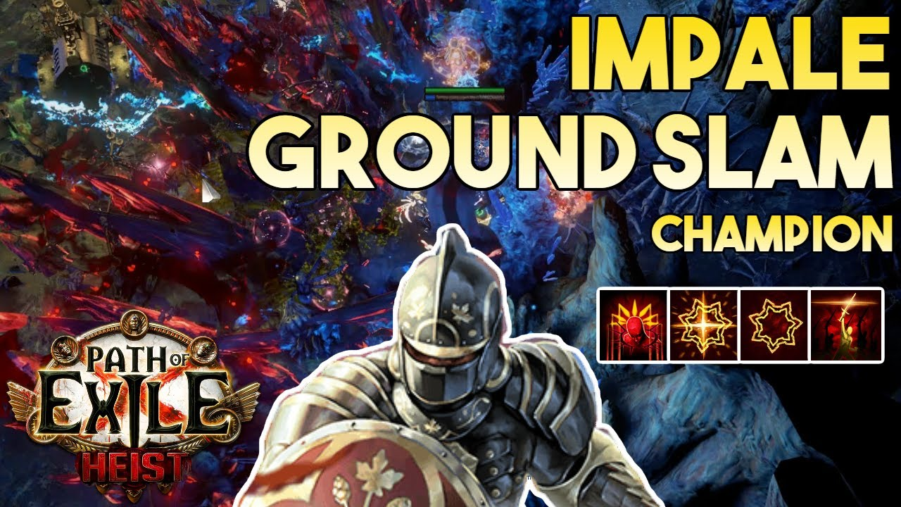 Download [3.12] Impale Ground Slam Build | Champion | Flashback | Path of Exile 3.12