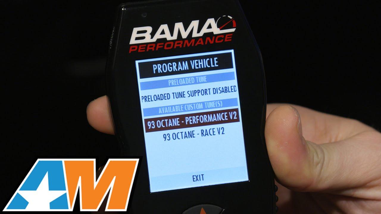 Dyno 2015 Mustang Bama X4 Sf4 Power Flash Tuner W 2 Custom Tunes