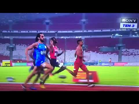 Dying seconds of Manjit Singh in Asiad 2018 800 mt finals