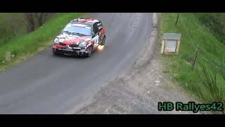 Rallye du Val d'Ance 2019 ( Attack and show) By HB Rallyes42 [HD]