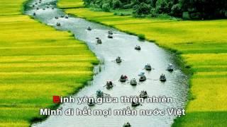 [Karaoke] Việt Nam đi,hôn và yêu - Phạm Hồng Phước ( Beat HD)