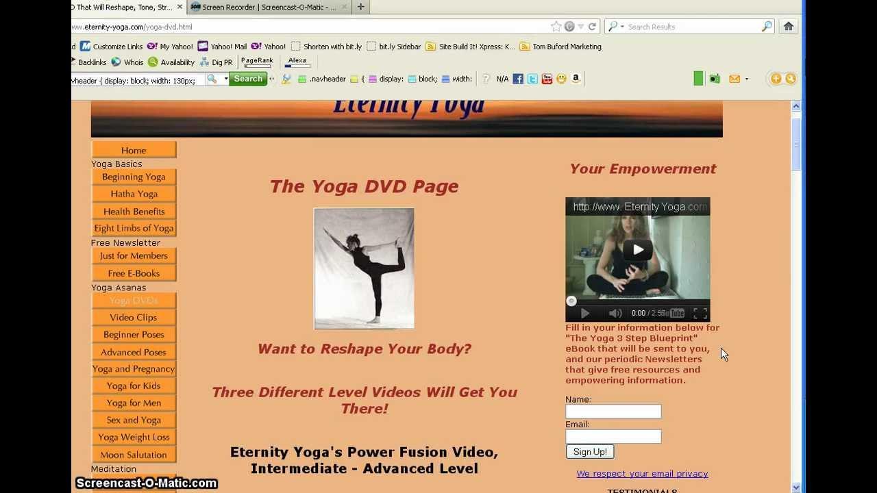 Giselles eternity yoga dvd review yoga pilates training youtube giselles eternity yoga dvd review yoga pilates training malvernweather Images