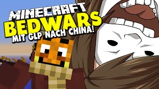 MIT GERMANLETSPLAY NACH CHINA! + LING LING! ✪ Minecraft Bedwars Woche Tag 123 mit GLP