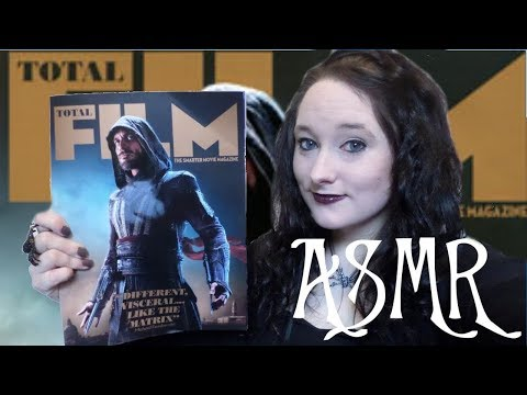 *ASMR* A Relaxing Look Through Total Film Magazine (October 2016) | Amy McLean