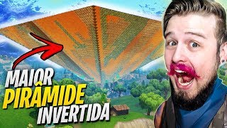 WE BUGAMOS The FORTNITE WITH the LARGEST INVERTED PYRAMID (Fortnite Battle Royale)