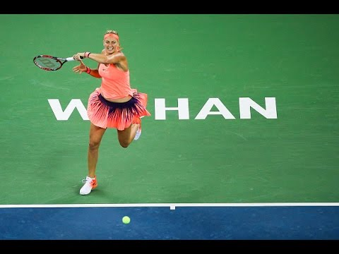 2016 Wuhan Open Semifinals | Petra Kvitova vs Simona Halep | WTA Highlights