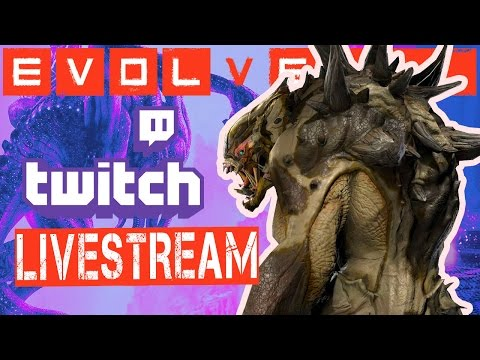 Evolve Twitch Stream: Monster Skin Showcase (Poison, Neptune
