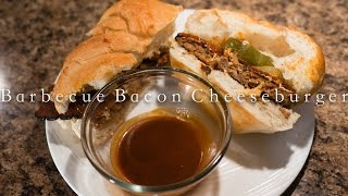 Barbecue Bacon Cheeseburger