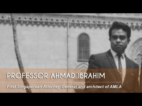Ep 7: Professor Ahmad Ibrahim - Pioneers of Early Singapore