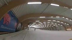 Ski Session indoor 2015 Comines Belgique Ice mountain with Gopro