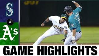 Mariners vs. Athletics Game Highlights (9/20/21)   MLB Highlights