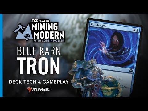 [MTG] Mining Modern   Blue Karn Tron