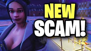NEW SCAM that only 0% of people know!! 😱😱 (Scammer Get Scammed) Fortnite Save The World