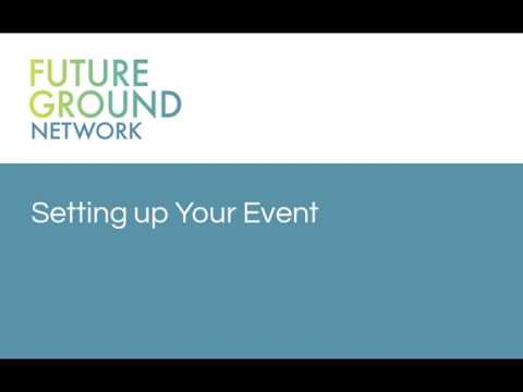 2. Setting Up Your Event