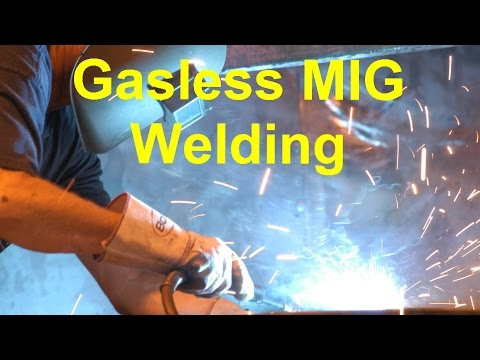 Intro To Gasless MIG Welding