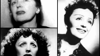 Watch Edith Piaf Fais Comme Si video