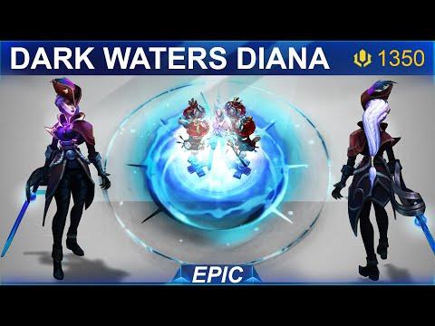 Dark Waters Diana Skin Spotlight 2020 | SKingdom - League of Legends