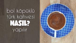 Bol Köpüklü Türk Kahvesi nasıl yapılır? | Merlin Mutfakta Yemek Tarifleri
