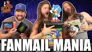 SONIC MANIA COLLECTORS FOR NINTENDO SWITCH?! - Unboxing Fan Mail