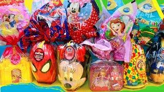 OVOS DE PÁSCOA 2017 Princesinha Sofia Minnie Princesas Disney Patati Patata Brinquedos Surpresas