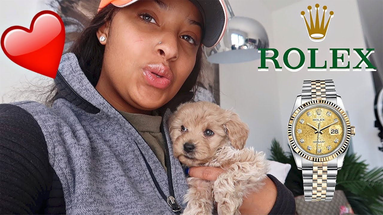 i-had-the-best-birthday-ever-he-bought-me-a-dog-rolex-and-yacht-vlogmas-day-1