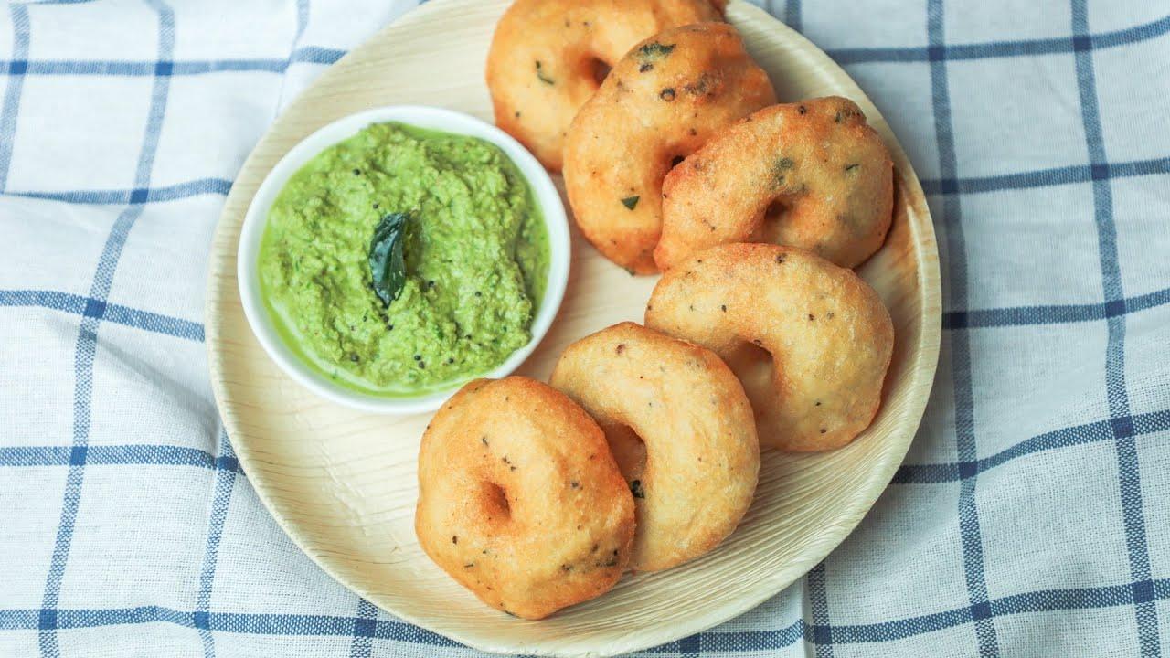 Medu Vada Recipe - How To Make Medu Vada Recipe - Crispy Medu Vada