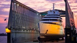 Azzam - 'world's biggest' yacht -  beating Russian oligarch Roman Abramovich's Eclipse