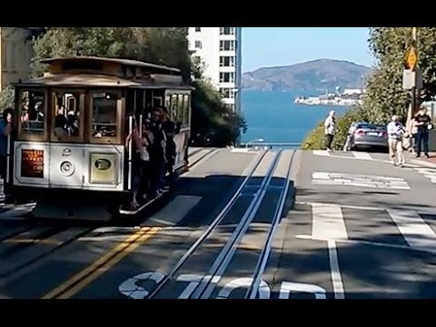San Francisco Cable Car - Complete Ride on Powell-Hyde line