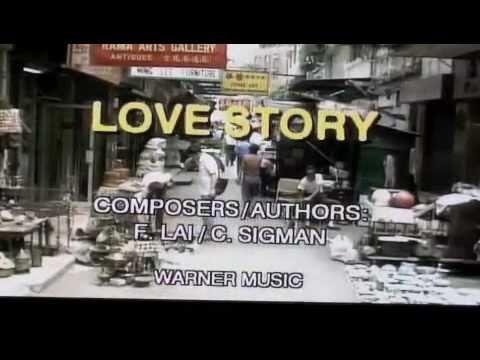 ANDY WILLIAM - LOVE STORY - KARAOKE - 5/4/11