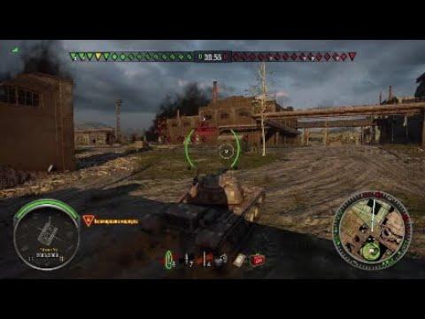 World of Tanks* T-110 e4. 8,700k Damage and Master