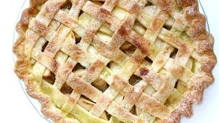Easy Apple Pie Recipe with Latice 애플파이 만들기 - 사과 타르트 - 한글자막