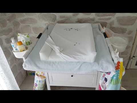 Пеленальный комод фирмы Ikea и организация места для переодевания малыша