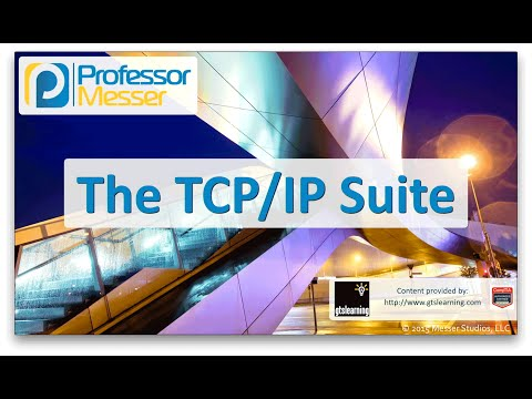The TCP/IP Suite - CompTIA Network+ N10-006 - 5.2