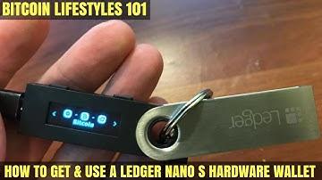Ledger Nano S Wallet Review / Demo | Bitcoin Lifestyles Club